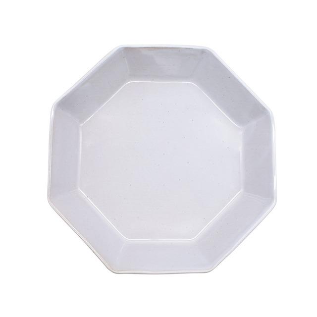 笠間焼 向山窯 オクタン パスタ皿 プレート M 約19cm グレー 255725