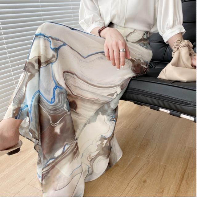 Design flare skirt KRE641