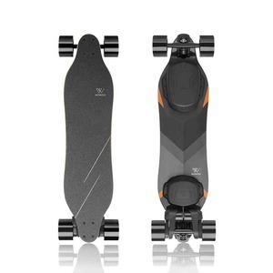 WOWGO 3X| ストリート電動スケートボード(ベルト駆動式、色:ブラック)