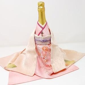 【KIMONO ボトルカバー 】マダム・バタフライ(長崎のしらべ)