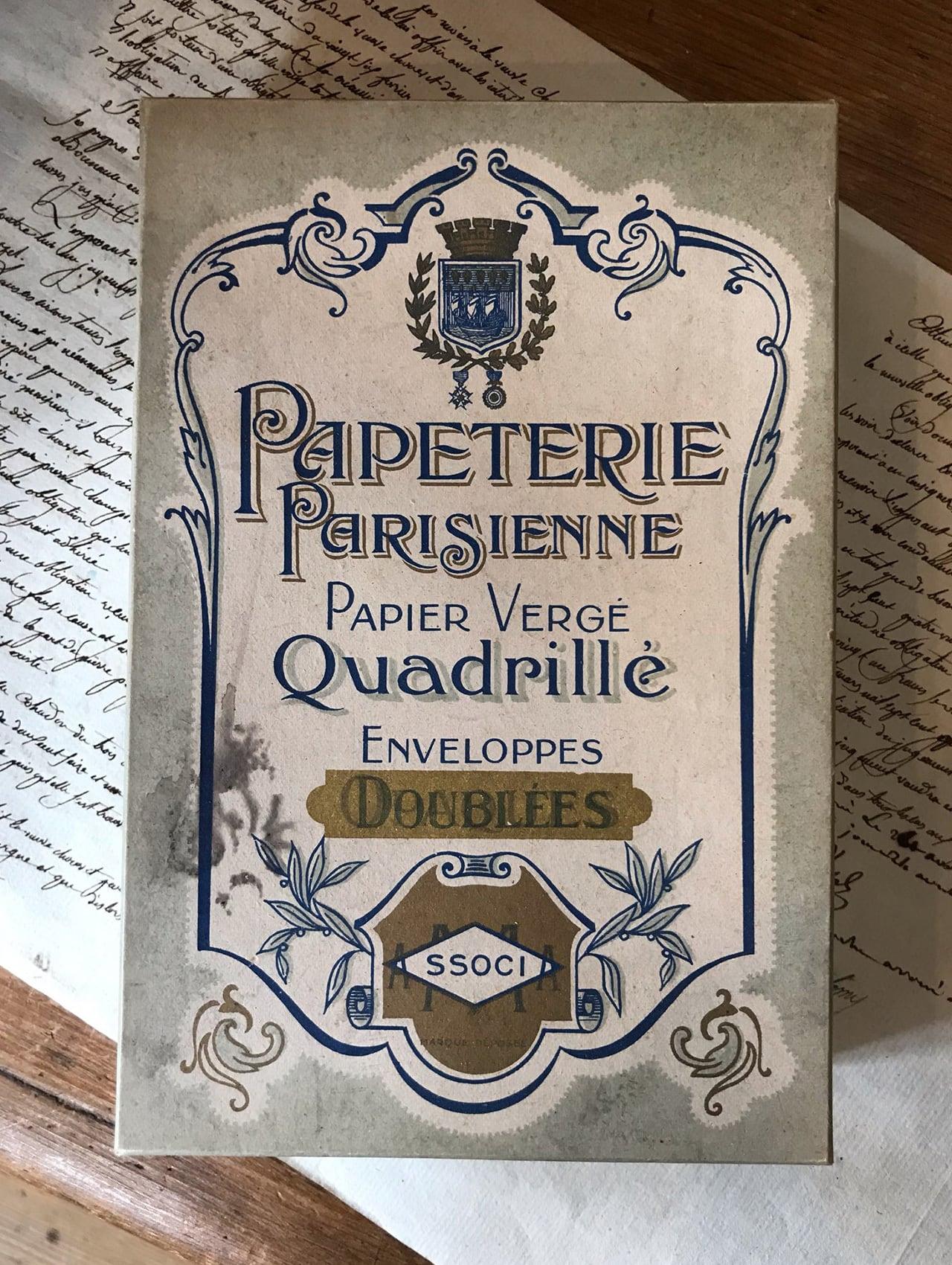 フランスの紙箱 PAPETERIE