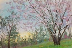 NO.96「丘の山桜・4月」