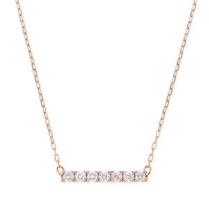 K10PGダイヤモンドネックレス 020201009191