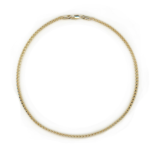 【GF1-49】20inch gold filled chain necklace