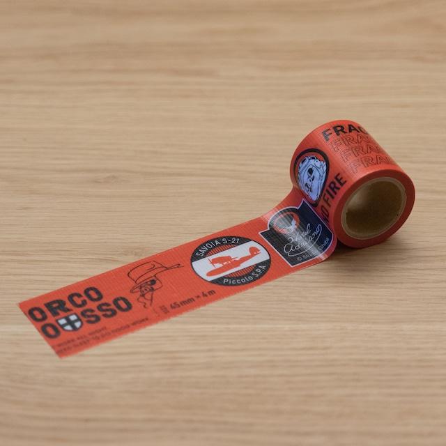 紅の豚 ワイドテープ(3695)