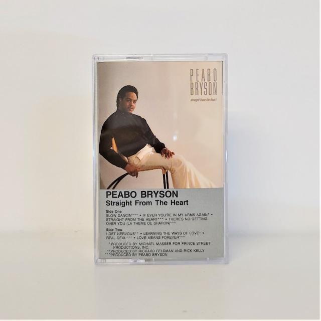 [中古カセット]  Peabo Bryson – Straight From The Heart