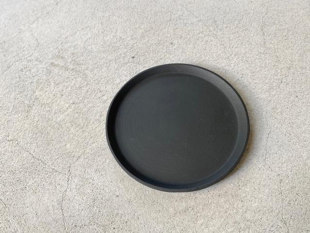 POSHLIVING ポッシュリビング / ラウンドプレート ブラック 63634