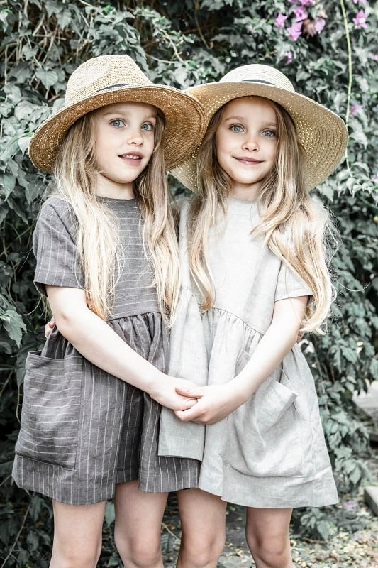 AS WE GROW Pocket Dress (9-12Y)