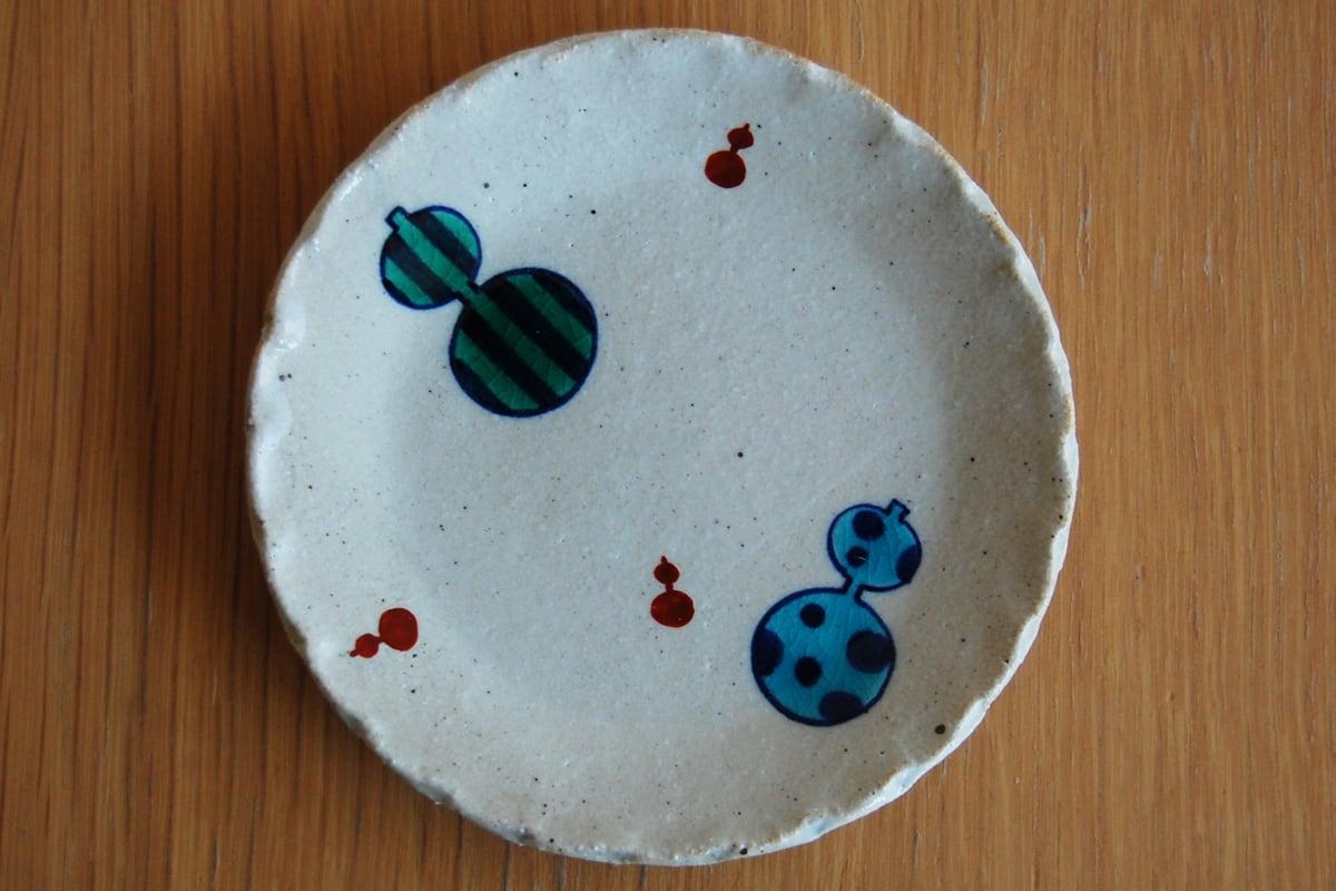 豆皿 瓢箪