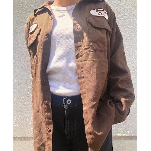 70s~80sBIG BEN work shirt