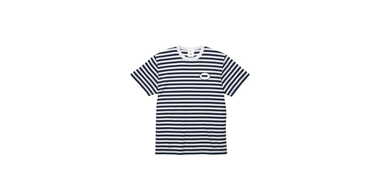 coguchi stripe T-shirts (NVY/WH)