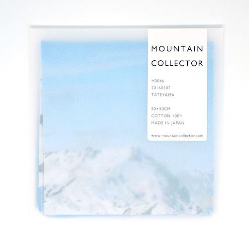 MOUNTAIN COLLECTOR(マウンテンコレクター)H0046 TATEYAMA ハンカチ