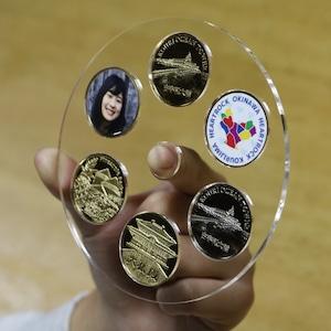 記念メダル収納CD/ご当地記念メダル6個収納CD