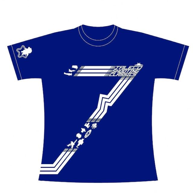 [新品] [アパレル] ジャレコ シューティング クラシックスTシャツ 限定ブルー / クラリスディスク
