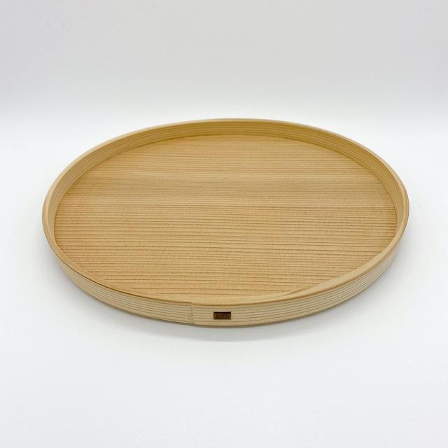 柴田慶信商店 曲げわっぱ 白木のパン皿|小