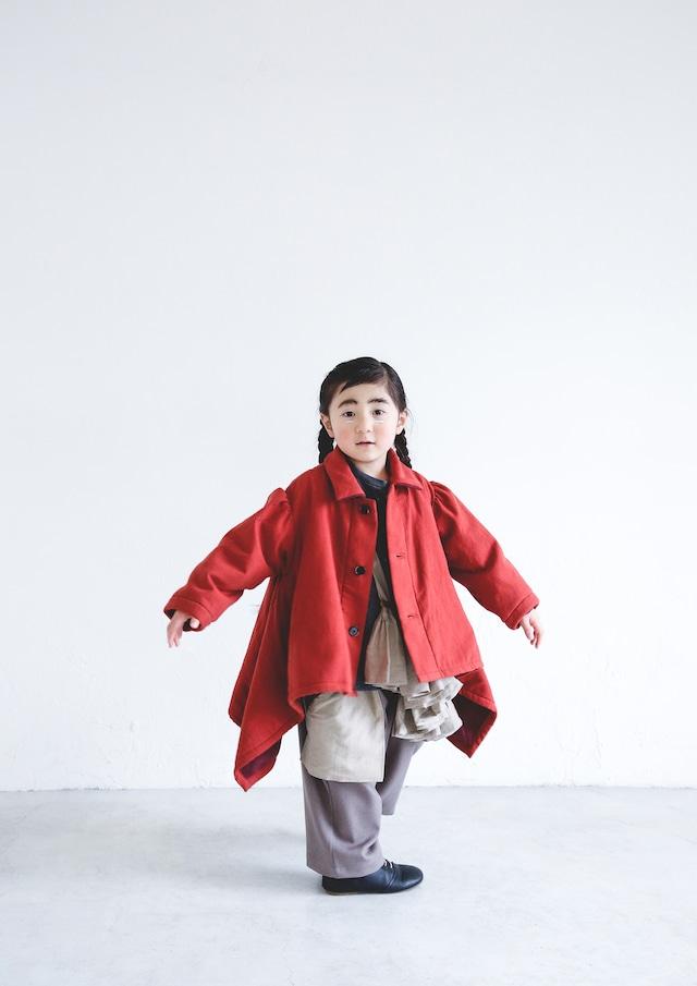 【21AW】ミチリコ(michirico) sway coat Red【L・XL】コート
