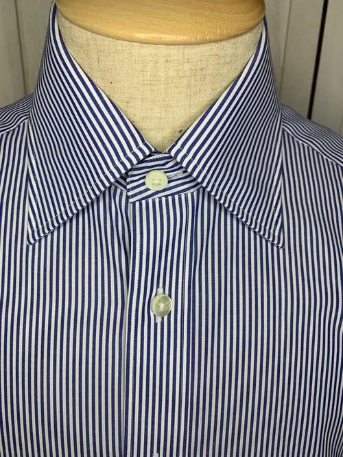 シャツ(単品)Lサイズ セミワイド ロンドンストライプ