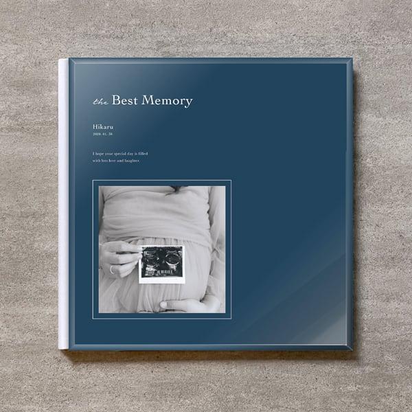 Navy blue-MATERNITY_A4スクエア_6ページ/6カット_クラシックアルバム(アクリルカバー)