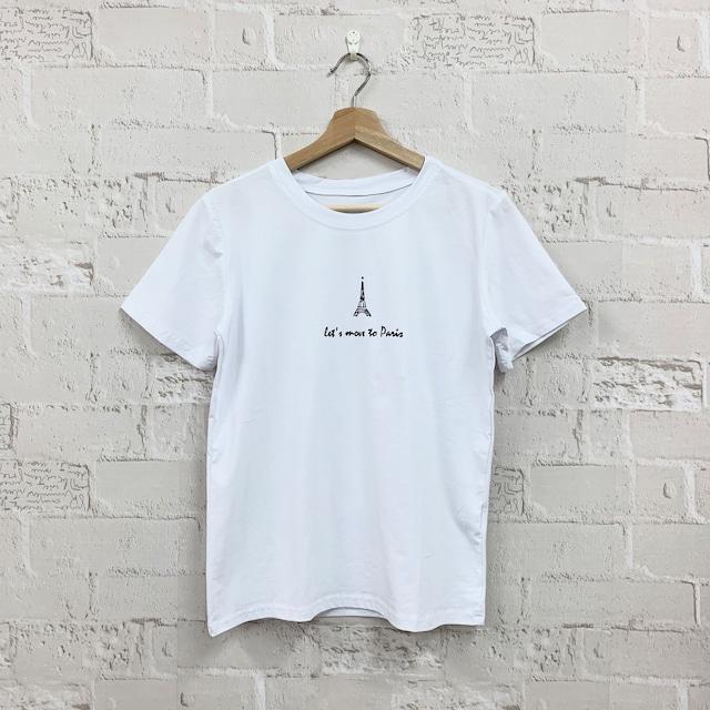 【即納】ワンポイント白Tシャツ|シンプル ロゴ