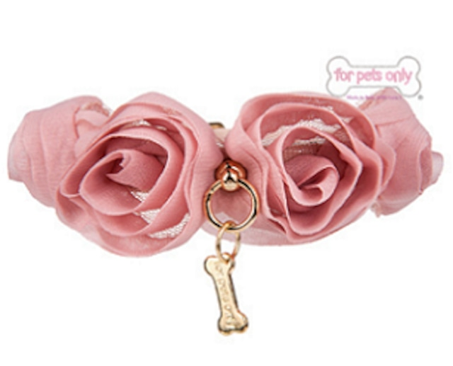 FOR PETS ONLY BLOOMING COLLAR NUDE ECOPATENT