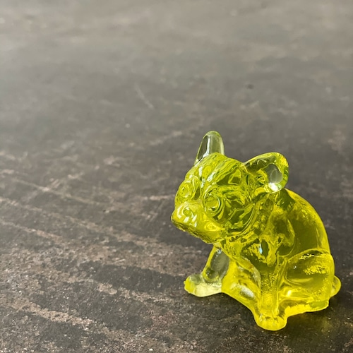 Vintage Glass object Bulldog 3