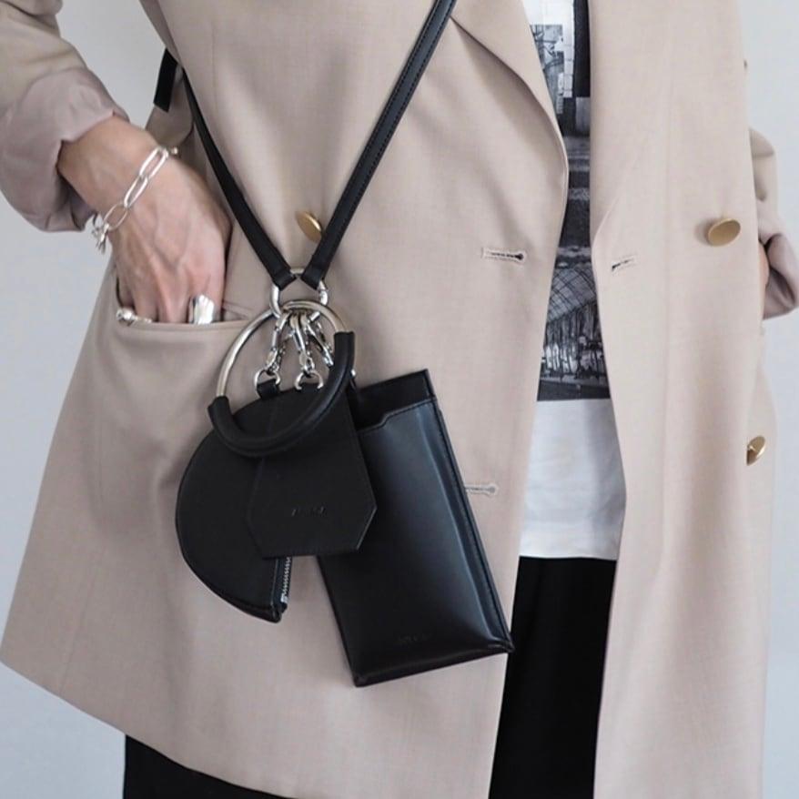 【 ANIECA 】Mini Leather Bag