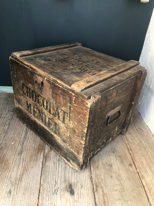 CHOCOLAT MENIER 木箱