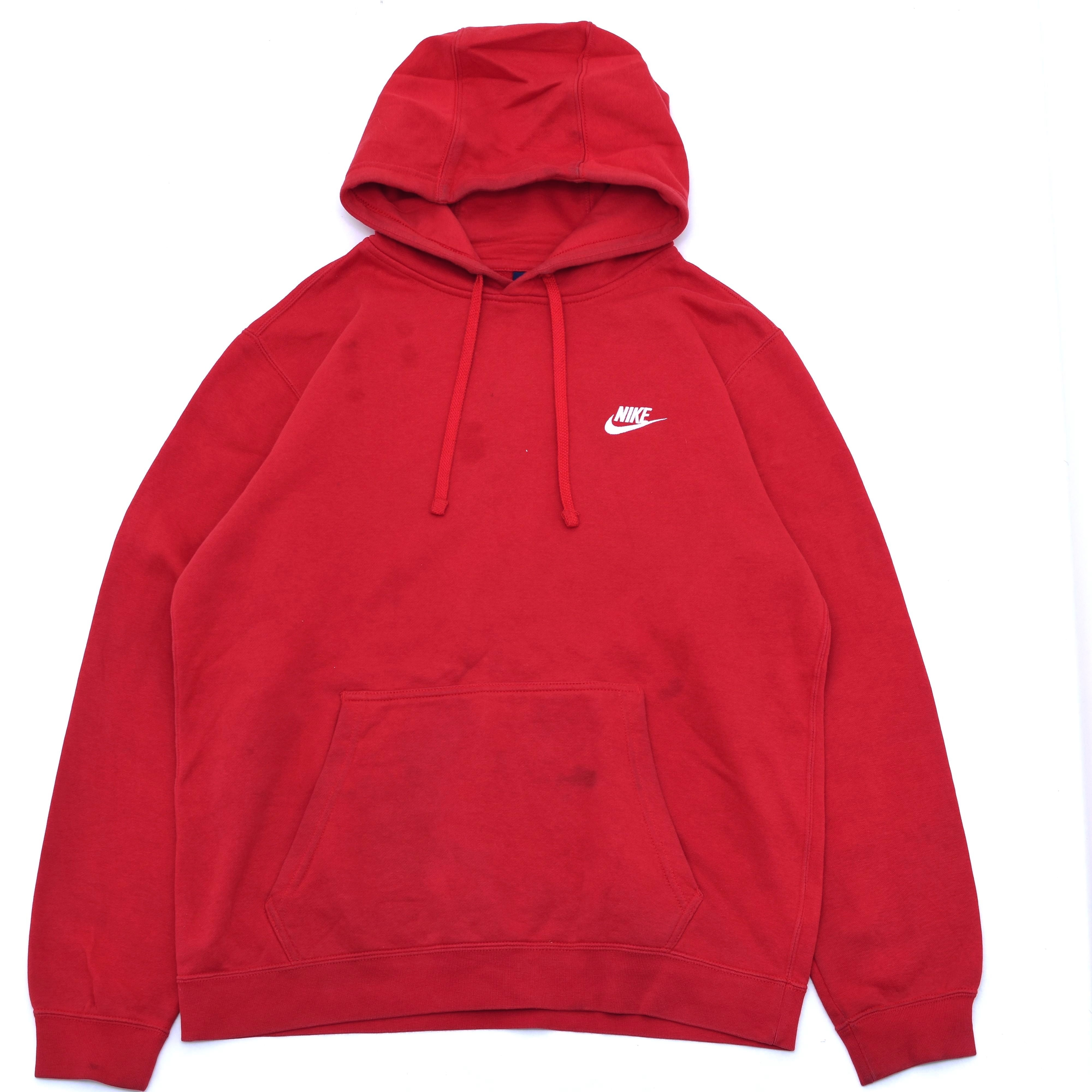 NIKE one point logo embroidery hoodie