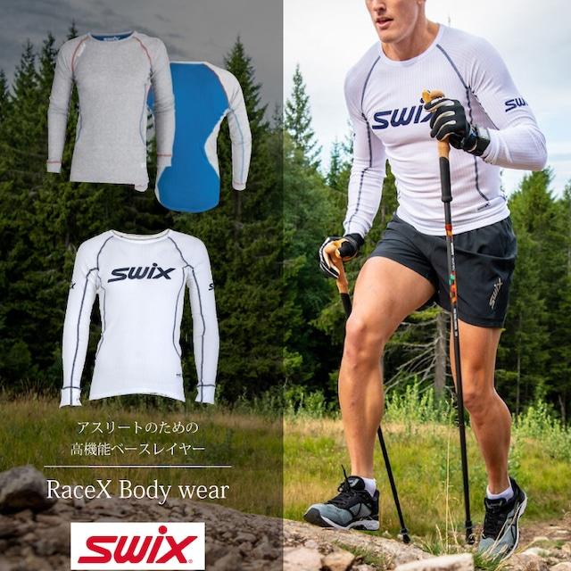 スウィックス swix レースX ボディウェア メンズ ベースレイヤー 【グレー】 パンツ インナー スキー スノーボード スノボ クロスカントリー 登山 キャンプ フィットネス ウェア