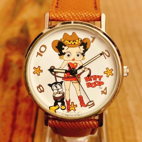 Betty Boop 90's Valdawn Cow Girl ウォッチ