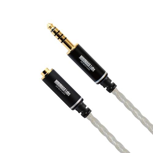 【アウトレット】朝霧(あさぎり)NOBUNAGA Labs PREMIUM :: 2.5mm4極 と 4.4mm5極バランス変換ケーブル