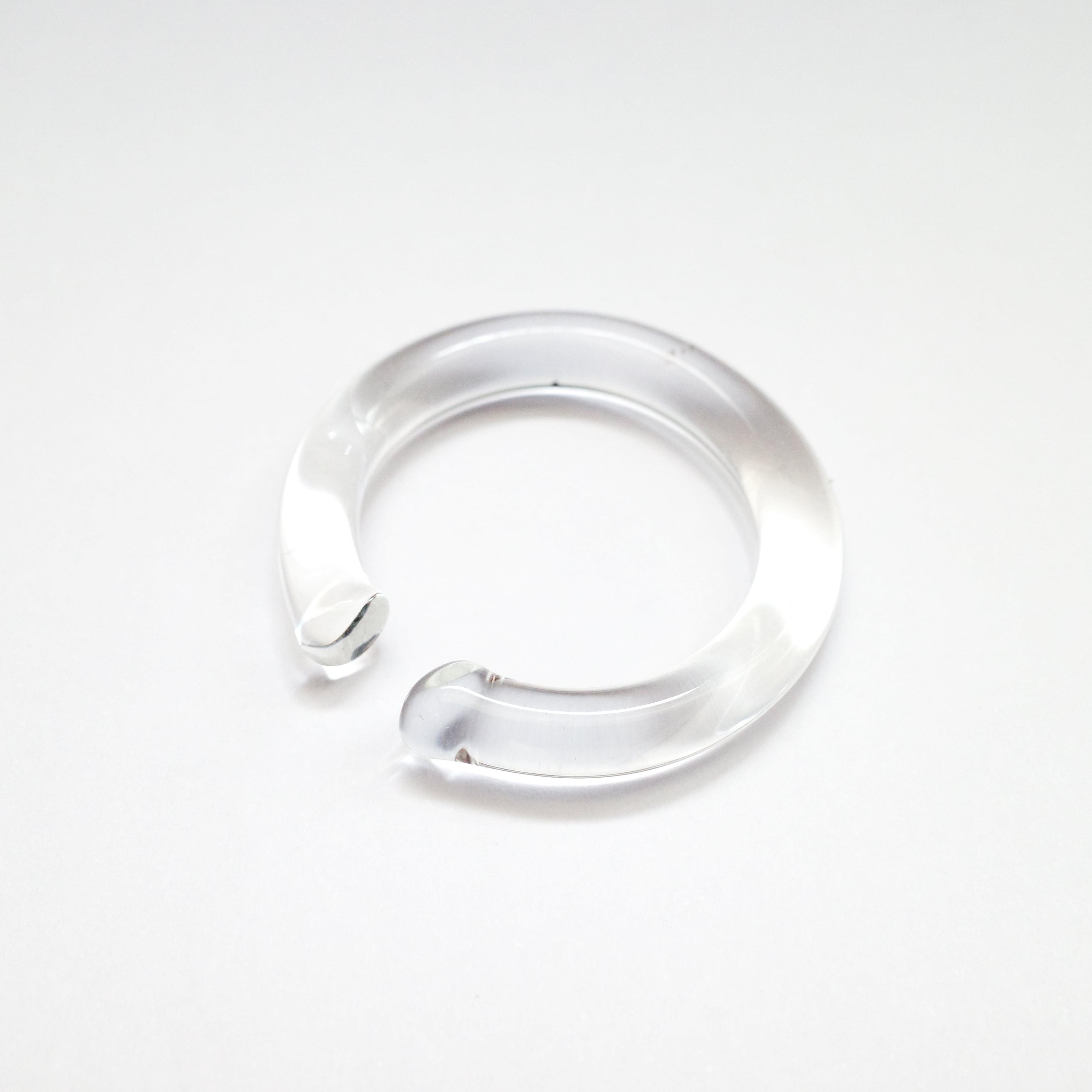_cthruit シースルーイット ear cuff (S) イヤーカフ 〇(円形) 【Clear】