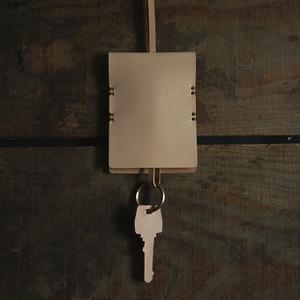 鍵袋 牛ヌメ革