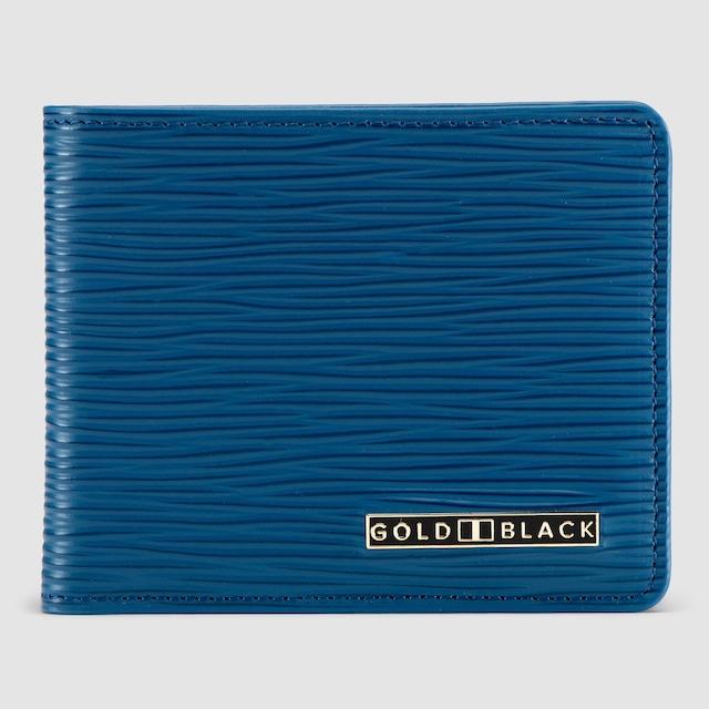 ゴールドブラック(GOLDBLACK) GM WALLET UNICO BLUE
