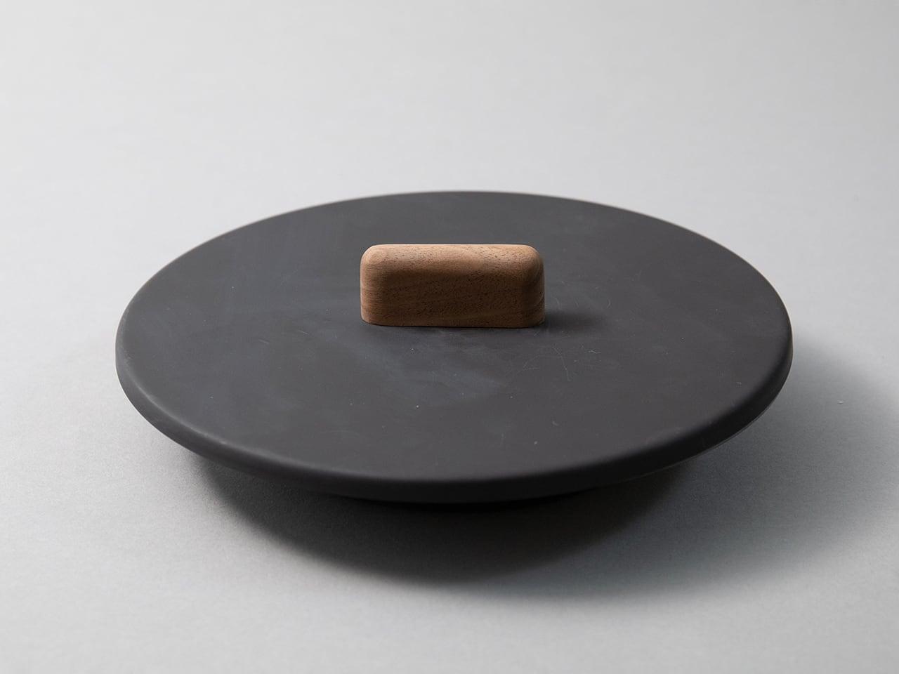 専用フタ(ウォルナット)Mサイズ - FRYING PAN JIU