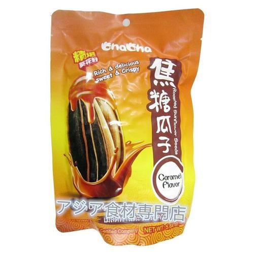 【常温便】焦糖瓜子 (ひまわりの種・カラメル味)