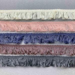 〈再入荷〉MOKUBA ファッションフリンジリボン(5色)