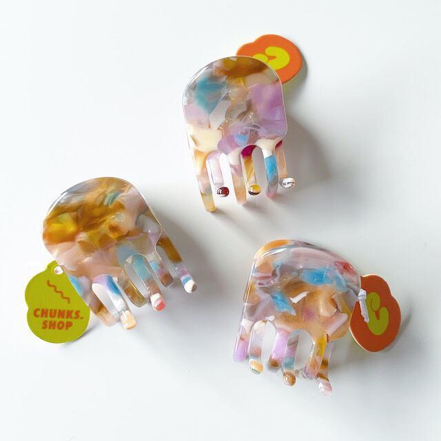 "Chunks ""Mini Claw"" Pastelチャンクス バンスクリップ・ヘアピン"