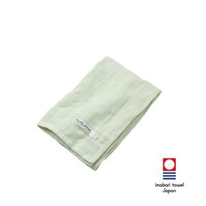 KuSu POP paletone 3重ガーゼフェイスタオル/グリーン 1-60070-31-G