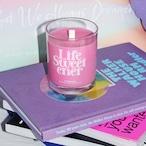 「LIFE SWEETENER」グラス