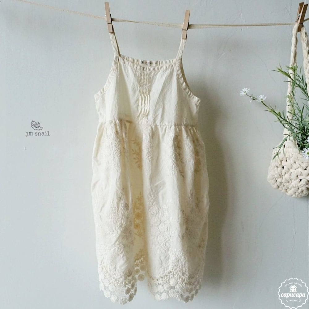 «sold out» Punching lace one piece パンチングレース ワンピース