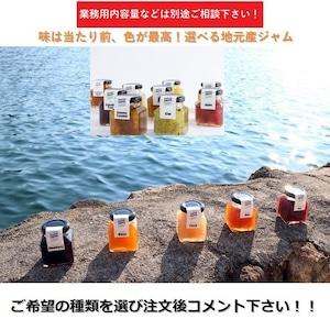 【お買い得】和歌山産 ジャム 6点セット【1瓶/100g】選べるジャム【送料無料】