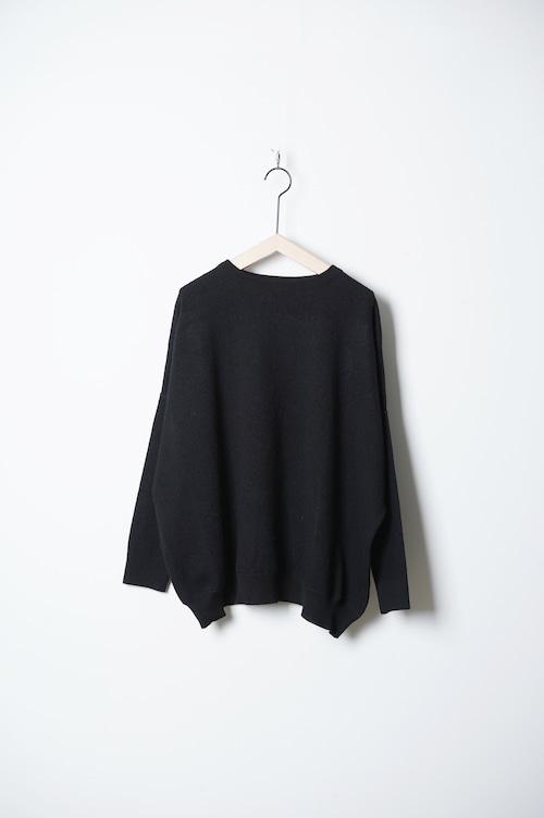 BARBER KNIT garment wash/OF-N026