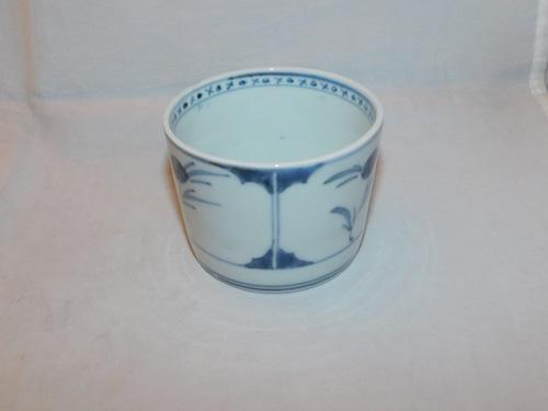 染付蕎麦猪口  Blue & white porcelain Soba noodle cup