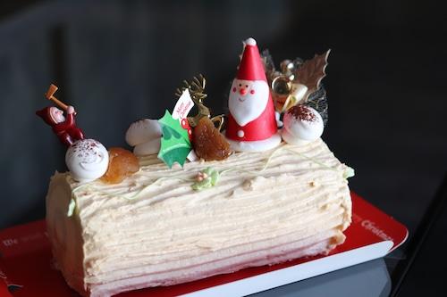 【2021年クリスマスケーキ】杉本都香咲が贈るクリスマスケーキ!ビッシュ・ド・ノエル【店頭受け取りのみ】
