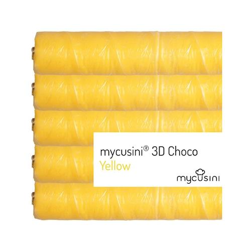 mycusini 3Dチョコ イエロー 5本入