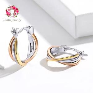 three line mini hoop pierce