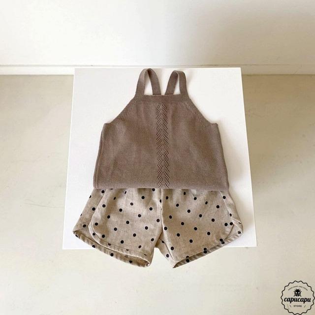 «即納» Aosta bazz linen short pants リネンドット パンツ