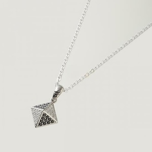 Studs Necklace Silver