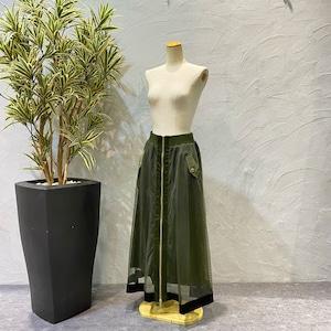 Risley/メッシュジッパーラインスカート